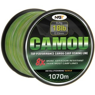 Schnur Camouflage 0,33mm 1070 Meter