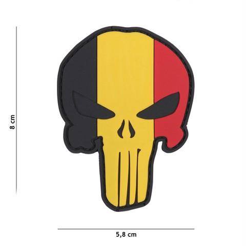Patch 3D PVC Punisher Belgium