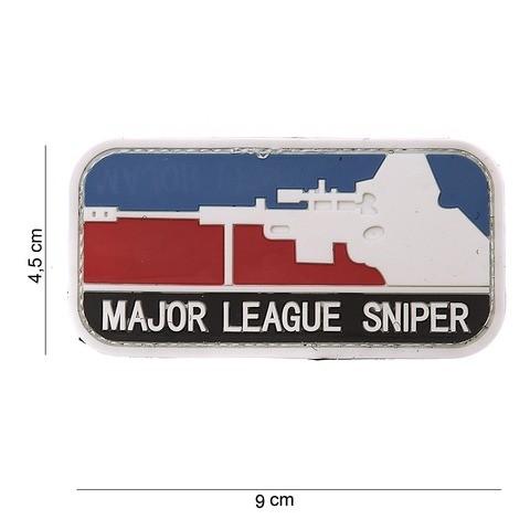 Patch 3D PVC Major Sniper Color