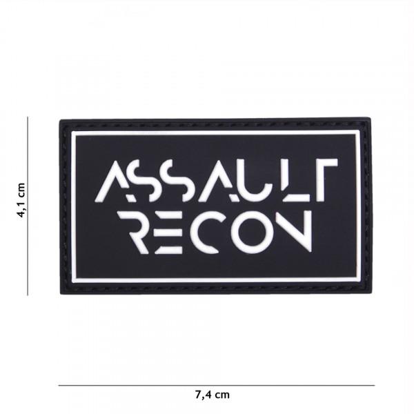 Patch 3D PVC Assault recon black