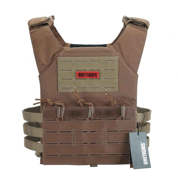 NIGHTMARE Tactical Vest Coyote Brown