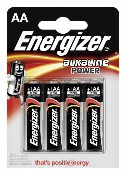 Energizer Alkaline Power Mignon - AA - LR6 - 4er Blister