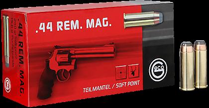 GECO 44 Rem. Mag. Teilmantel-Flachkopf 15,6 g