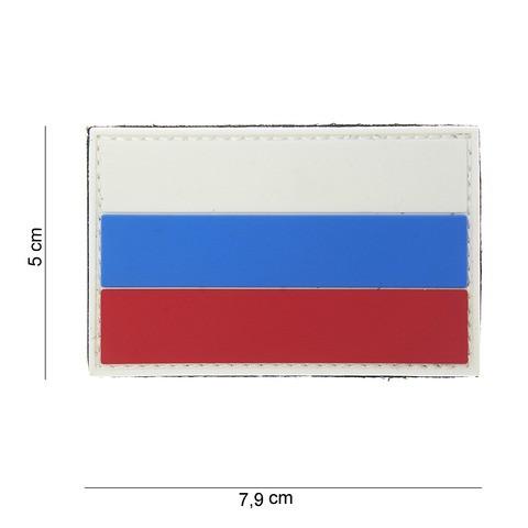 Patch 3D PVC Russia