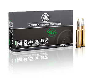 RWS 6,5x57 Evolution Green 6,0g