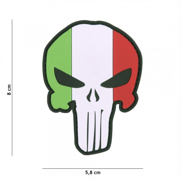 Patch 3D PVC Punisher Italy