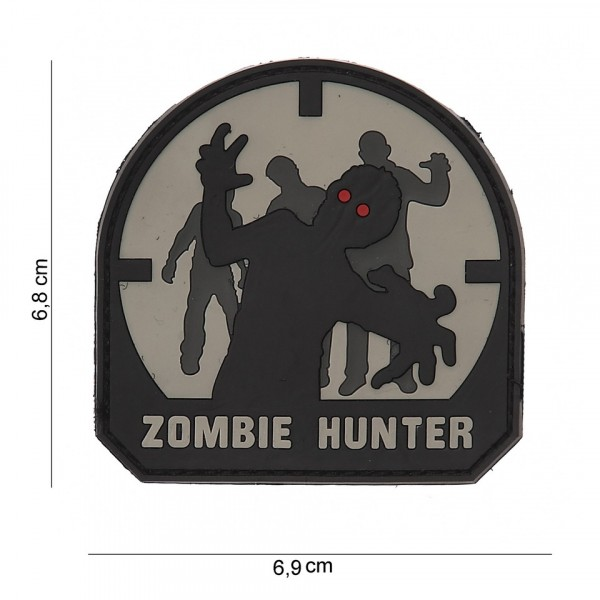 Patch PVC Zombie hunter SWAT