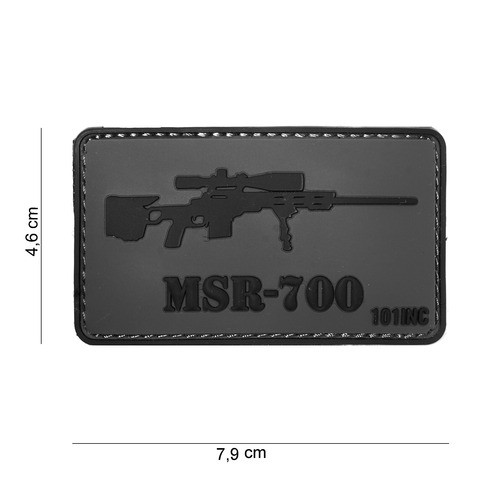 Patch 3D PVC MSR-700