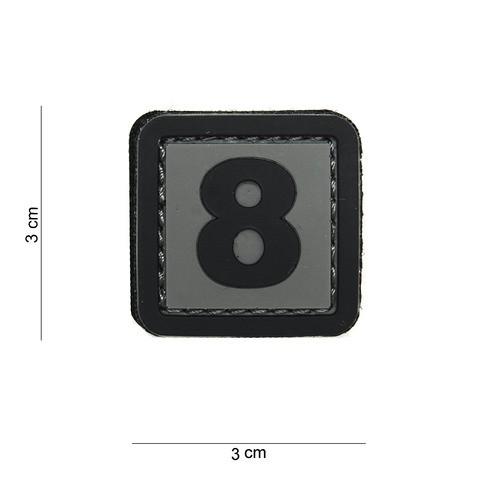 PATCH 3D PVC 8