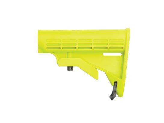 Yellow retractable stock for M15/M4