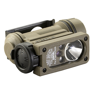 Streamlight Sidewinder Compact II Helmlight Coyote 14512
