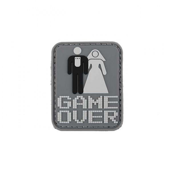 GAME OVER PVC Patch