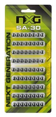 NXG Stahlkugeln SA30 Inhalt: 72 Stück, cal. .30