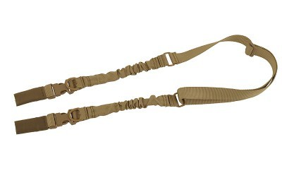 Heavy Duty 2-Point/1-Point Bungee Sling COYOTE