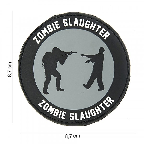Patch 3D PVC Zombie slaughter