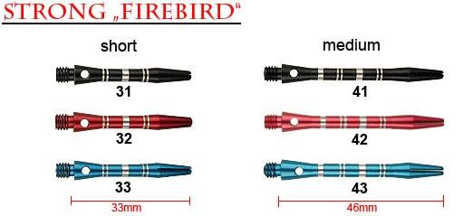 STRONG Firebird medium 41 schwarz