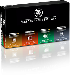 RWS Performance Test Pack im Kaliber .300 Win. Mag.