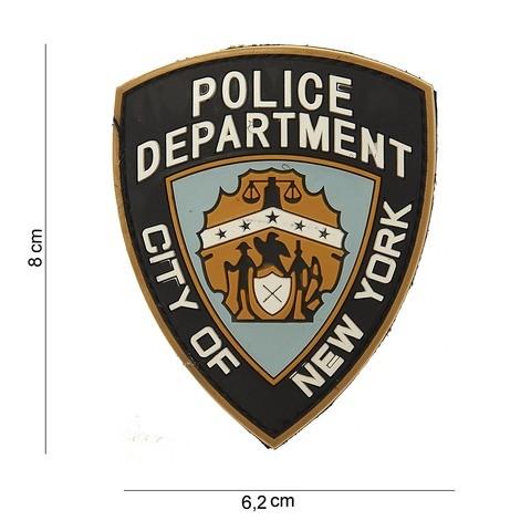 PATCH 3D PVC POLICE DEPARTMENT