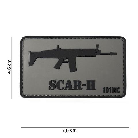 Patch 3D PVC SCAR-H