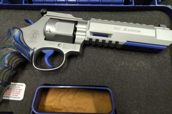 Smith & Wesson M686 Target Champion X stainless matt .357 Magnum