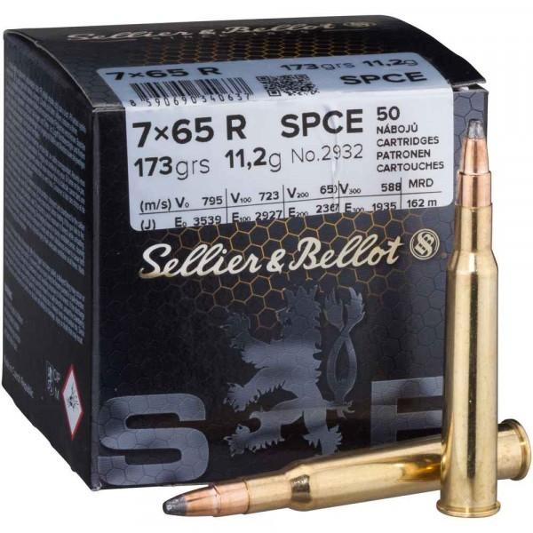 S&B 7x65 R Teilmantel 173 grs.