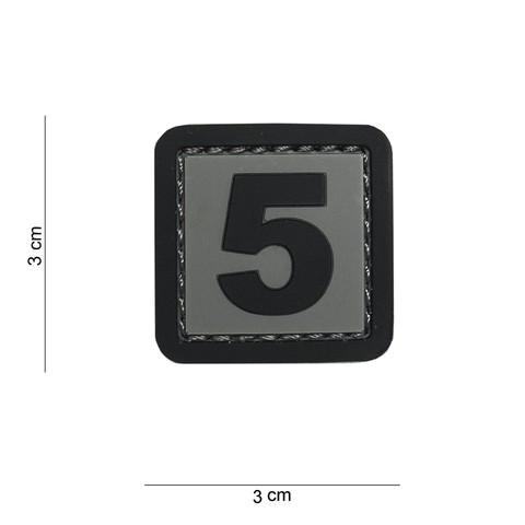PATCH 3D PVC 5