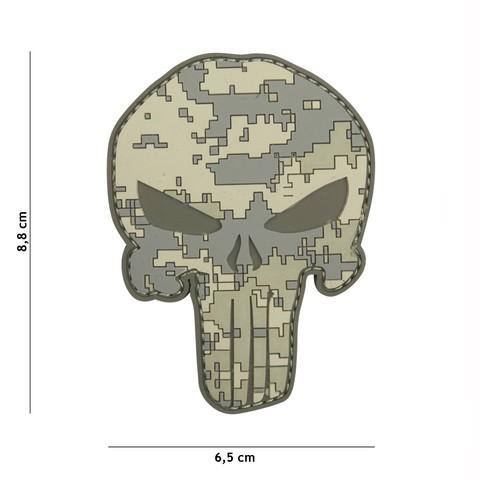 Patch 3D PVC Punisher