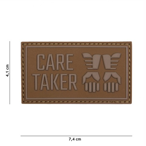 PATCH 3D PVC CARE TAKER COYOTE