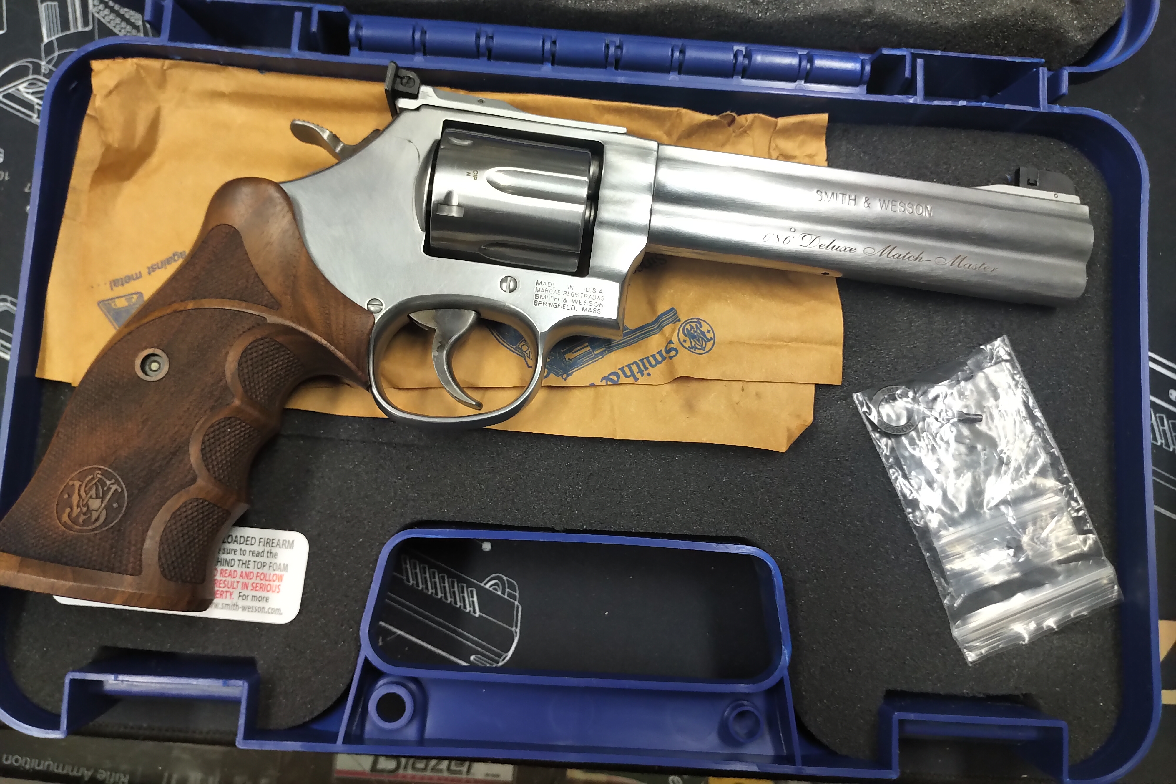 Smith & Wesson 686 Deluxe Match Master