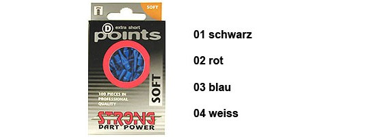 STRONG D-Points 100er schwarz