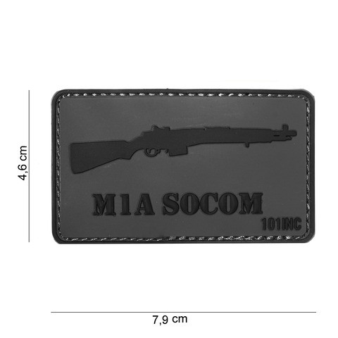 Patch 3D PVC M1A SOCOM