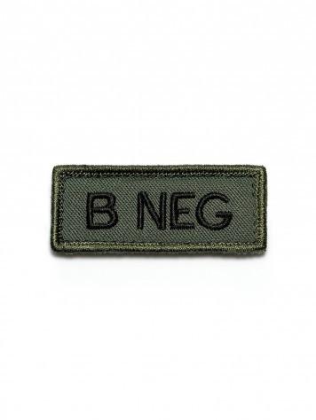 KHS Patch B Neg