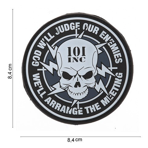 Patch PVC 101 INC God will judge our enemies