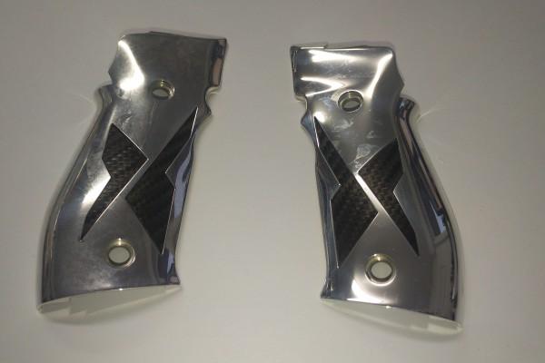 Griffschalen Set Aluminium Opl. für P226 X-R