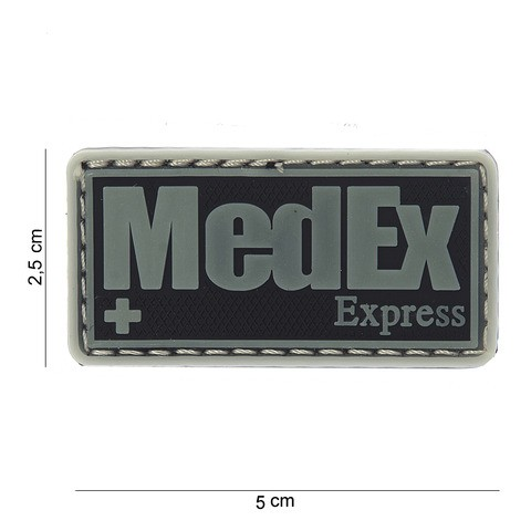PATCH 3D PVC MEDEX EXPRESS
