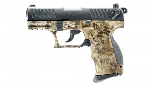 Walther P22Q 9 mm P.A.K. Kryptek