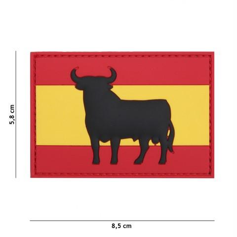 Patch 3D PVC Spanish bull