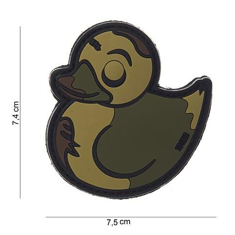 Patch 3D PVC Zombie Duck multi