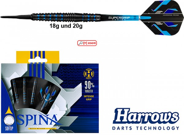 HARROWS Spina 90% black/blue 18 g