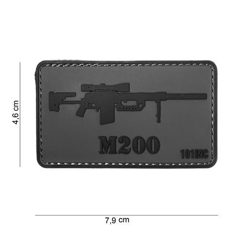 Patch 3D PVC M200