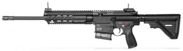 """H&K MR308 A3 - 16,5"""";Slim Line key-mod Schwarz"""