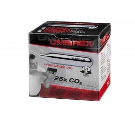 Umarex 12g Co2 Kapseln 25er Pack