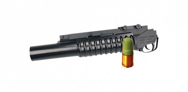 ICS M 203 Grenade Launcher Schwarz