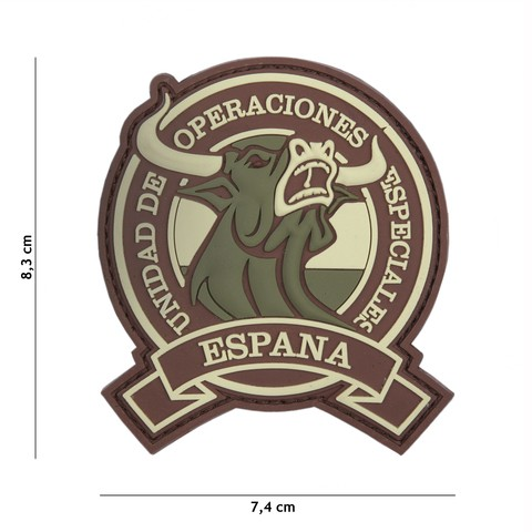 PATCH 3D PVC ESPANA MULTI