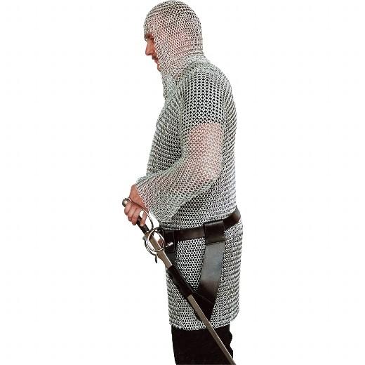 Gürtelhalterung für Schwerter aus Leder