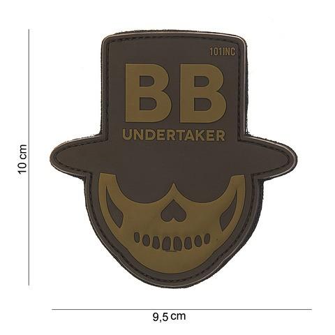 Patch 3D PVC BB undertaker