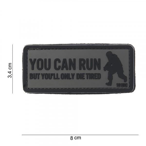 Patch 3D PVC You can run