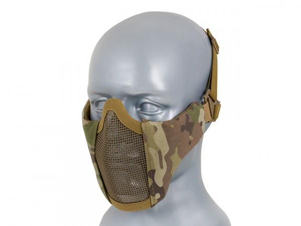 Gesichtsmaske halb Multicam