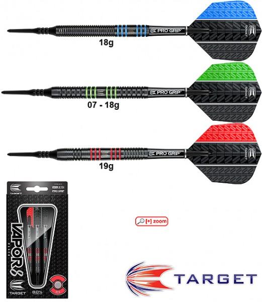 Target Vapor 8 Black/blue 18g