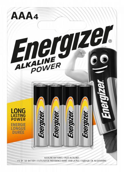 Energizer Alkaline Power Micro - AAA - LR03 - 4er Blister